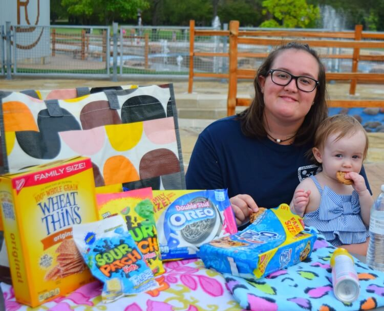 NABISCO Snacks at the Splash Pad
