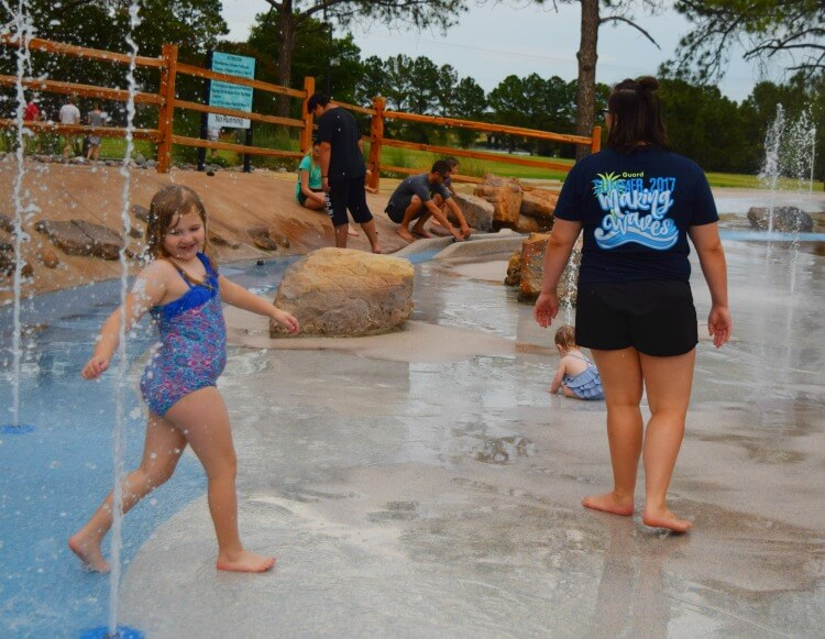More Splash Pad Fun
