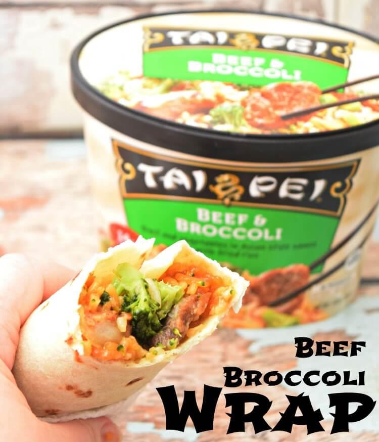 Tai Pei Beef Broccoli Wrap