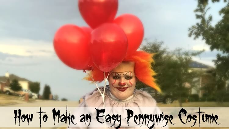 How to Make an DIY Easy Pennywise Costume