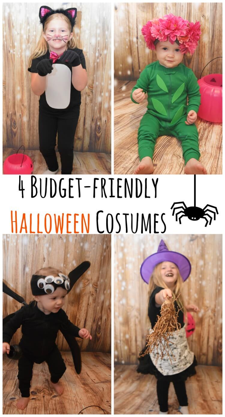 4 Budget Friendly Halloween Costumes