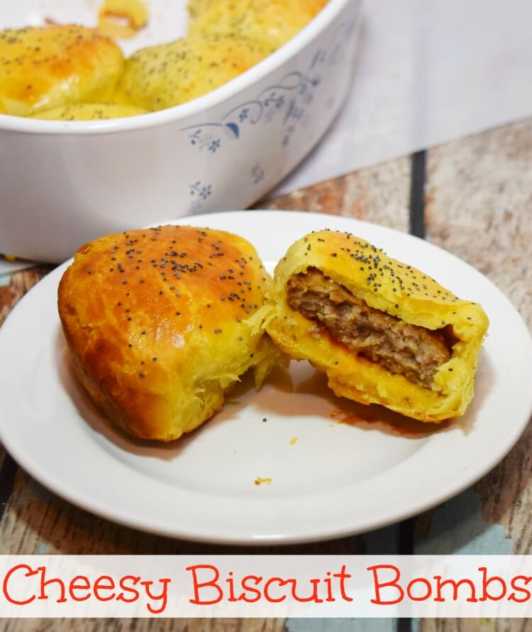 Cheesy Biscuit Bombs