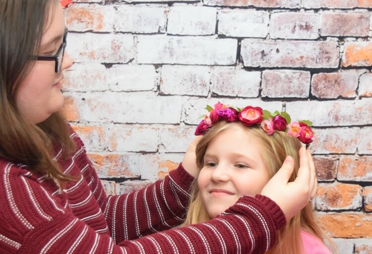 Make your own Candy Flower Crown