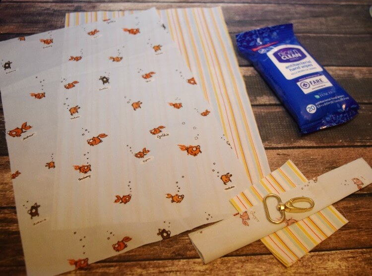 Snappy Wipes Pouch Supplies
