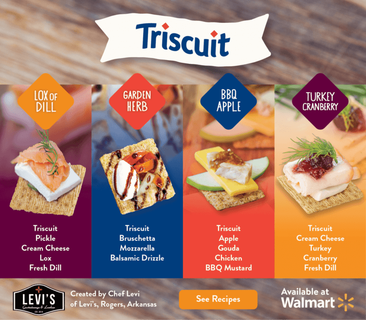 Triscuit recipe ideas
