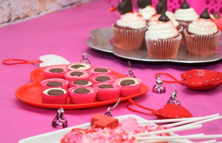 Take a bit of a Volcano Valentine Cookie