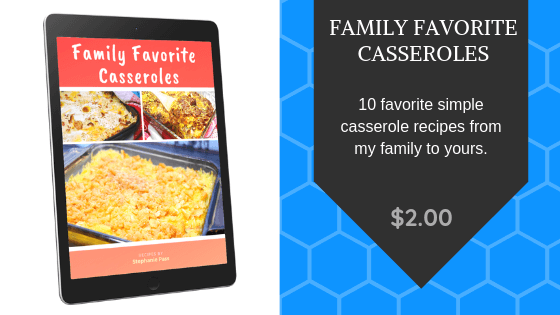 Family Favorite Casseroles