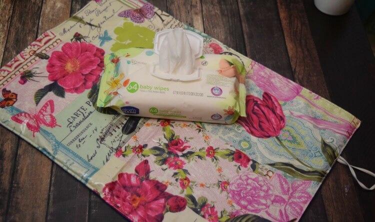 DIY Diaper Changing Pad