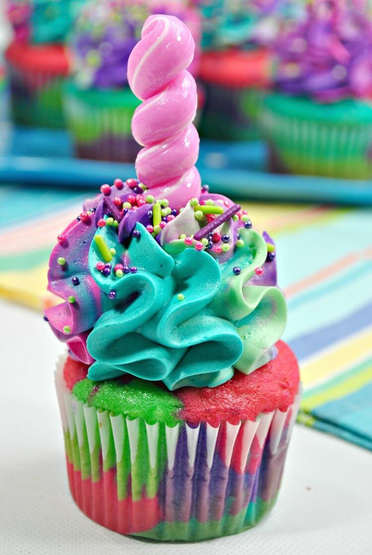 Ready to take a bite of that unicorn cupcake?