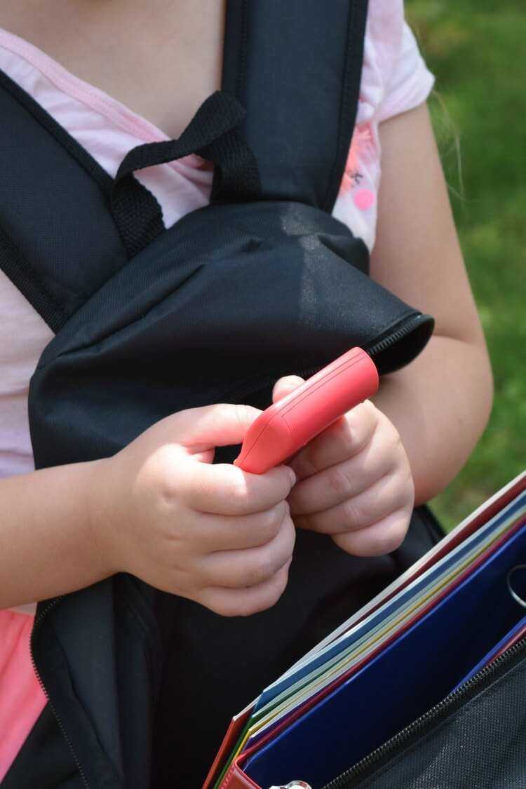 My daughter loved the calculator she got with her backpack full of school supplies.