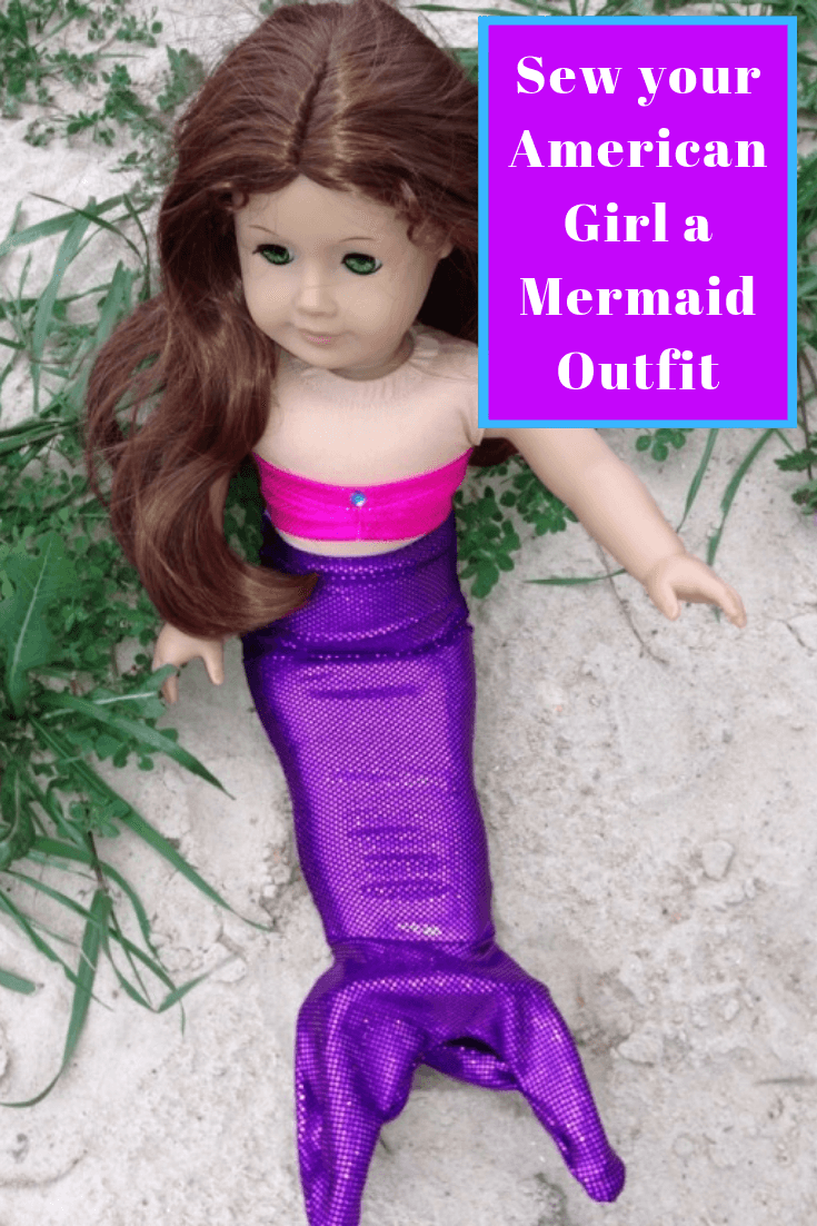 How to Sew an American Girl Mermaid Outfit