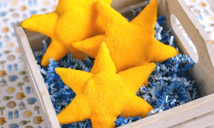 Close up view of the Starfish OREOs