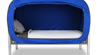 Privacy Pop Bed Tent (Twin) - Blue
