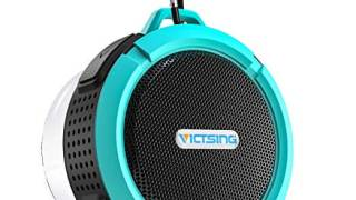 Portable Bluetooth Waterproof Bluetooth Speaker for Shower with Suction Cup &amp