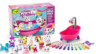 Crayola Scribble Scrubbie Pets Mega Pack Animal Toy Set