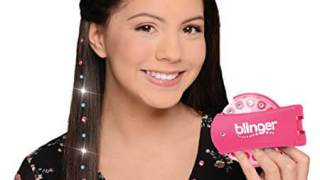 Blinger Deluxe Set Radiance Collection, Comes with Glam Styling Tool, 150 Gems - Load, Click, Bling! Hair, Fashion, Anything!