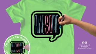 Lime Green Speech Bubble Kit - 3 Markers