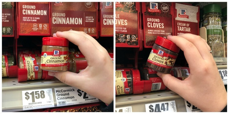 Cloves and Cinnamon found at H-E-B