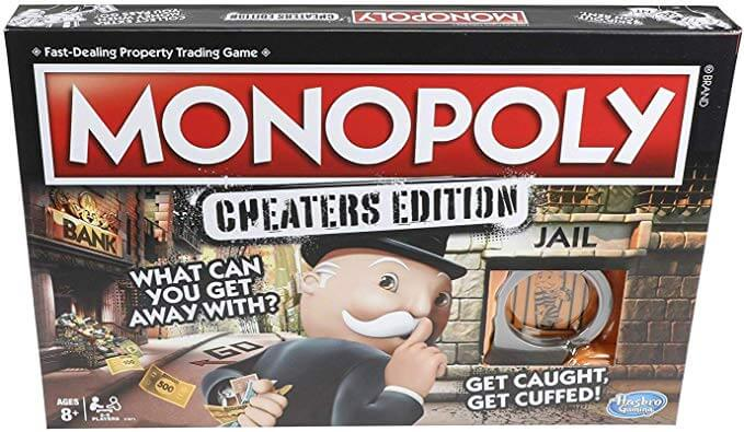 Monopoly Game: Cheaters Edition Board Game