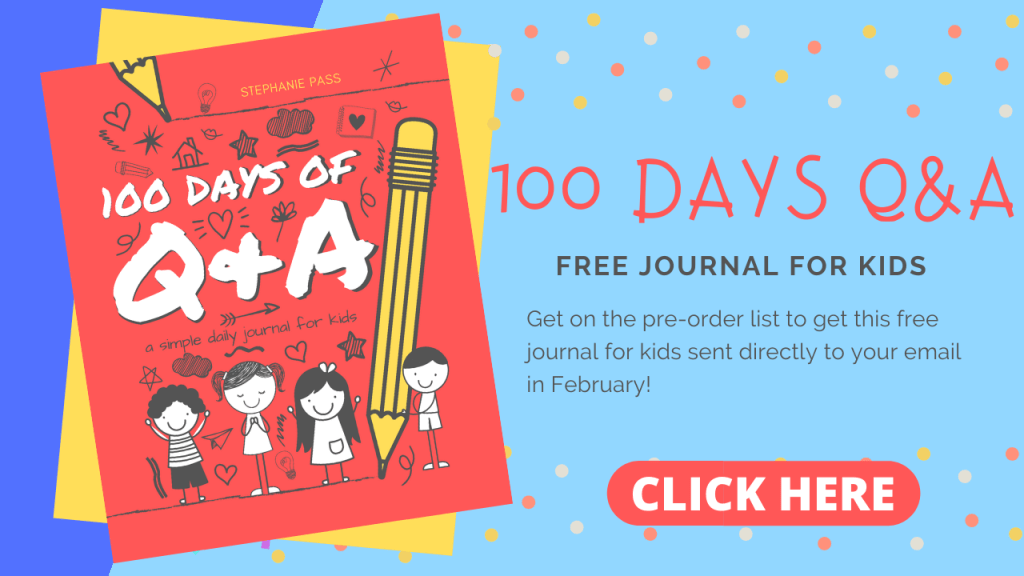Get on the list for this FREE journal for kids to improve their writing!