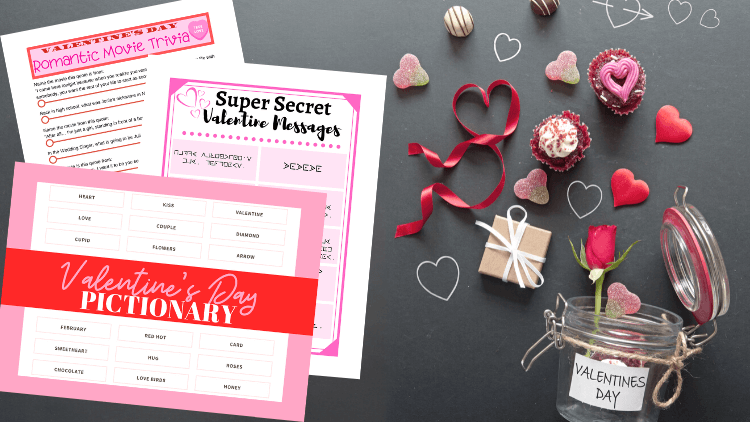 Three Free Printable Valentine's Day Party Games!
