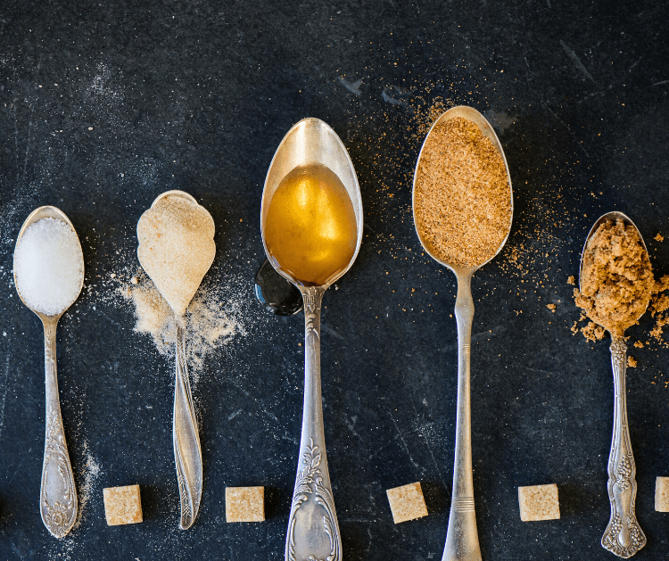Different substitutions and swaps for sugar