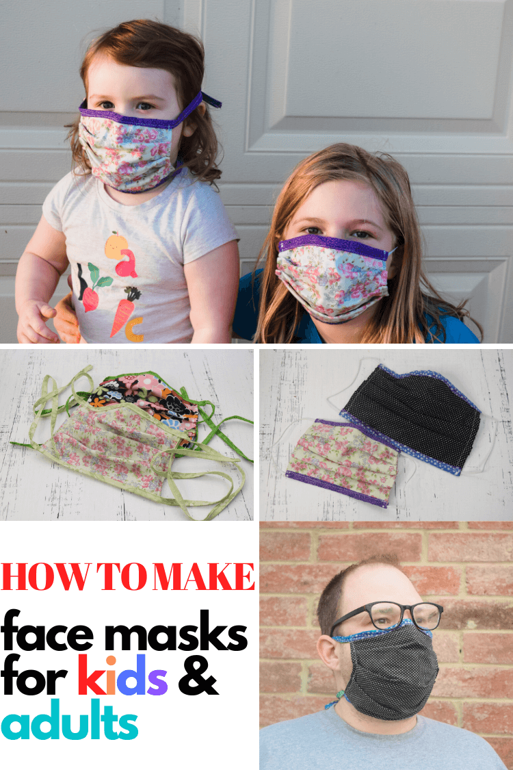 How to make a Face Mask at home for Adults and Kids