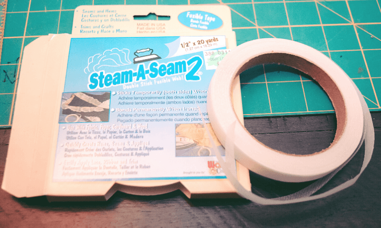 Steam of Seam 2 - 1/2 inch x 20 yards of fusible webbing.