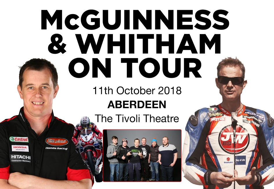 McGuinness and Whitham on Tour