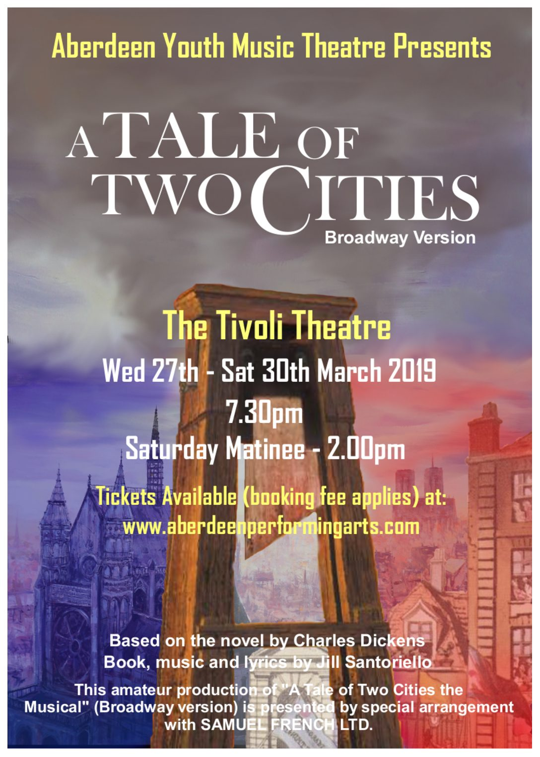 A Tale Of Two Cities The Tivoli Theatre