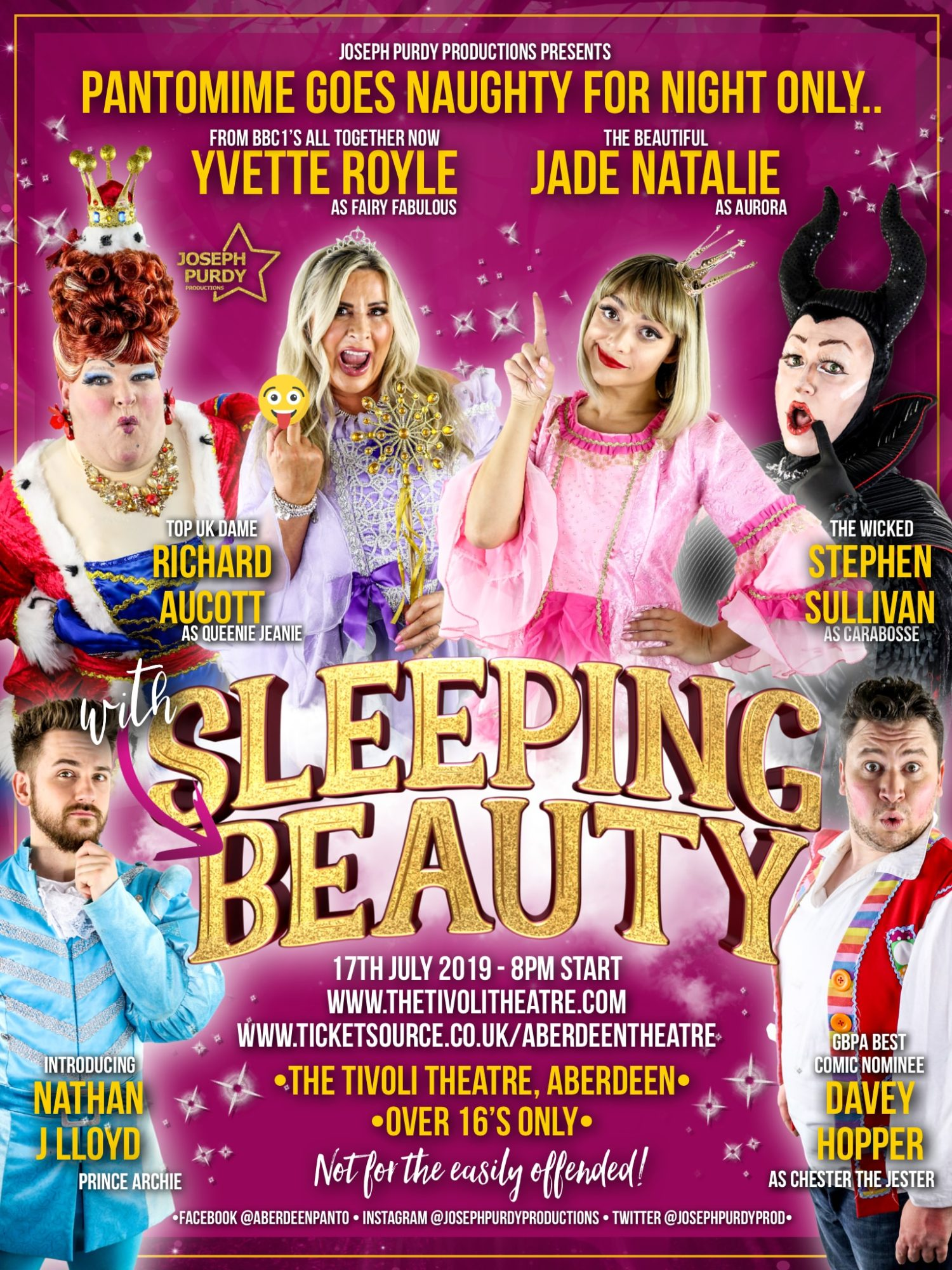Sleeping With Beauty Adult Panto Night The Tivoli Theatre