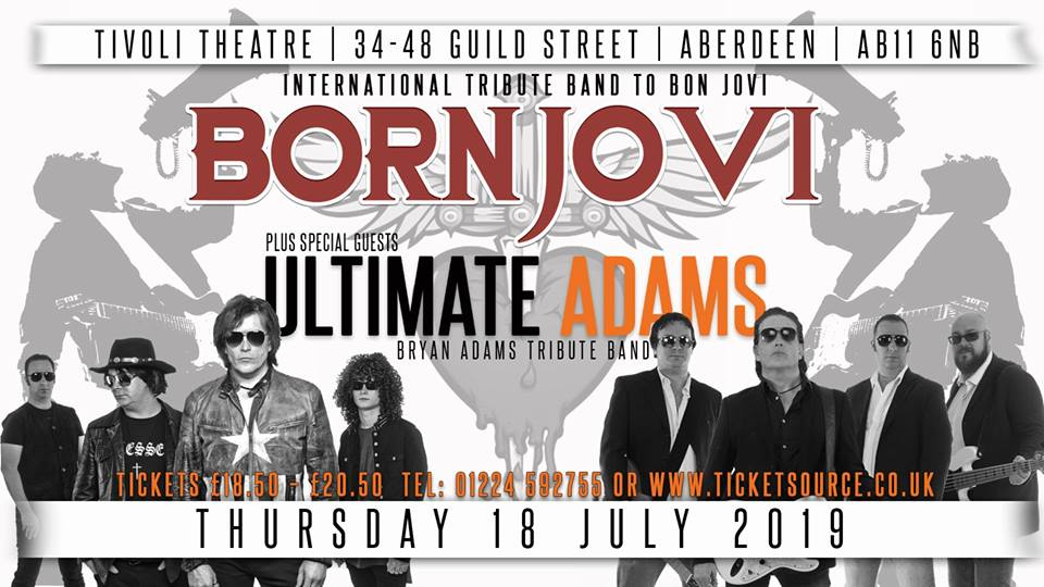 BORN JOVI – The International Tribute to Bon Jovi