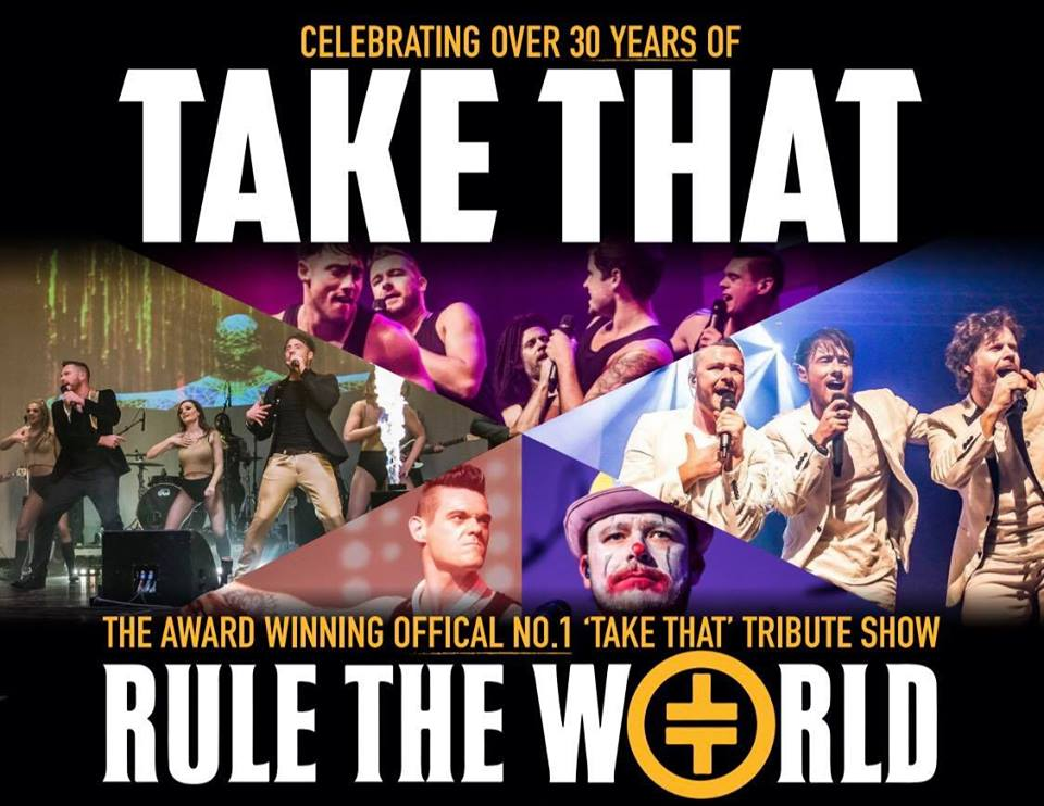 RULE THE WORLD - THE ULTIMATE TAKE THAT EXPERIENCE
