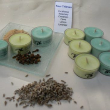 Tea Light Candles Soy Pure Essential Oils