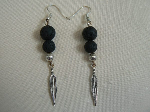 feather jewellery