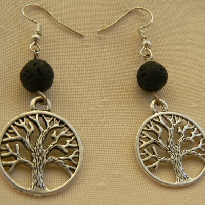 tree of life lava stone jewellery