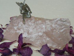angel rose quartz