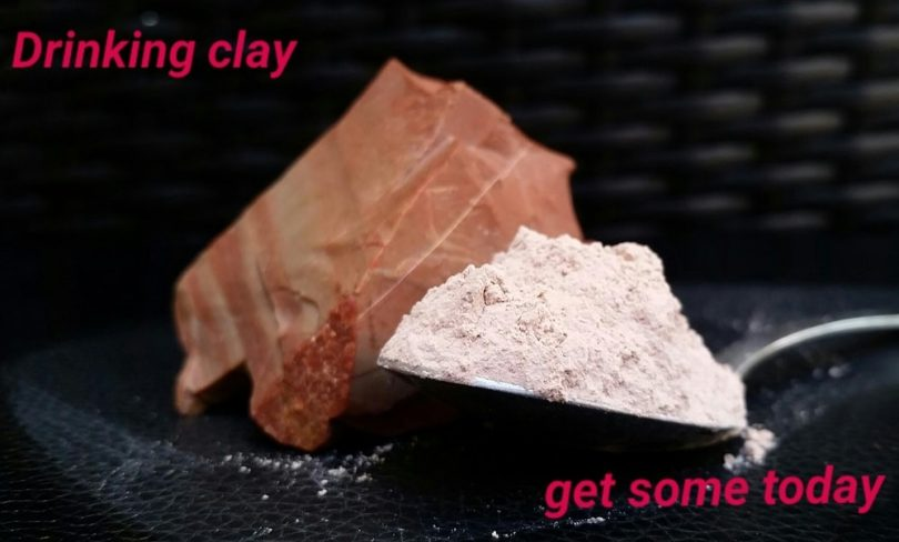 eating clay