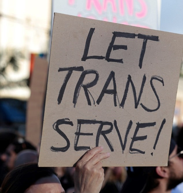 An Amendment Could Stop Trump's Transgender Military Ban