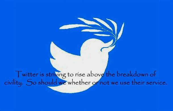 "Twitter's Olive Branch: mitigation of ""dehumanizing speech"""