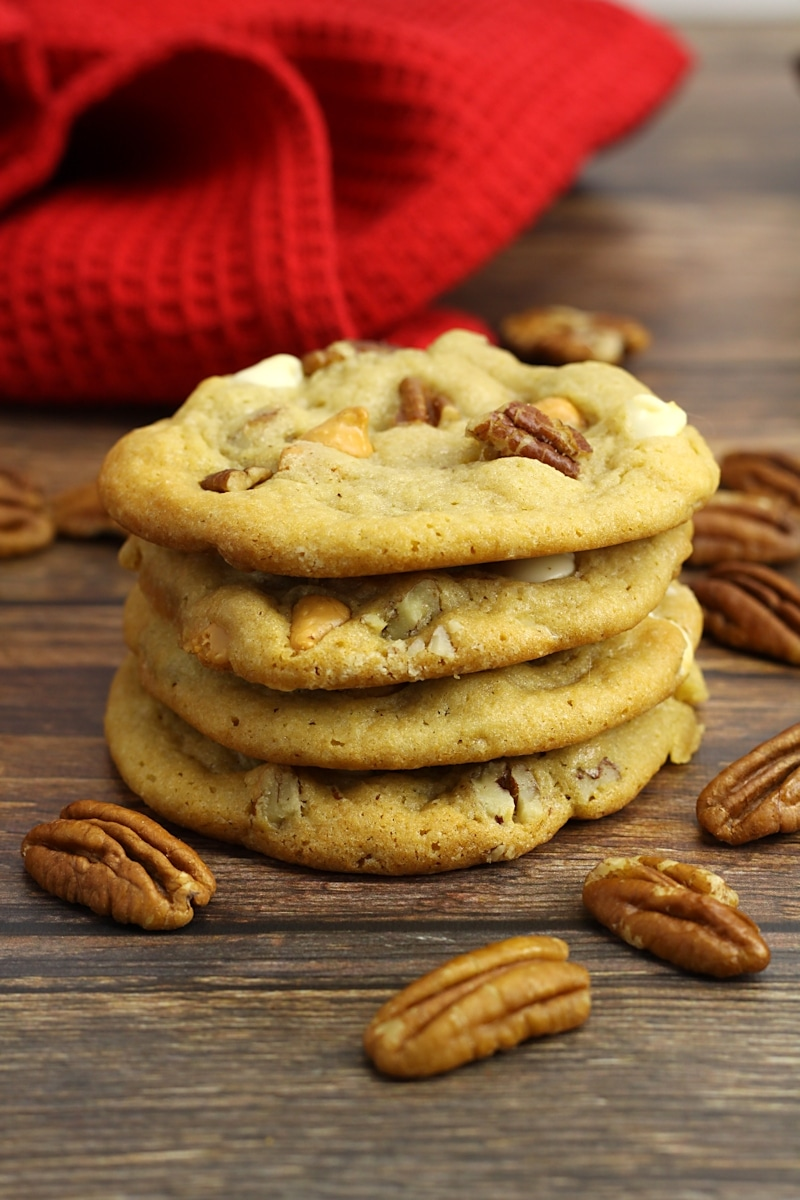Butter Pecan Cookies by The Toasty Kitchen