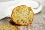 Rosemary and Garlic Parmesan Crisps by The Toasty Kitchen