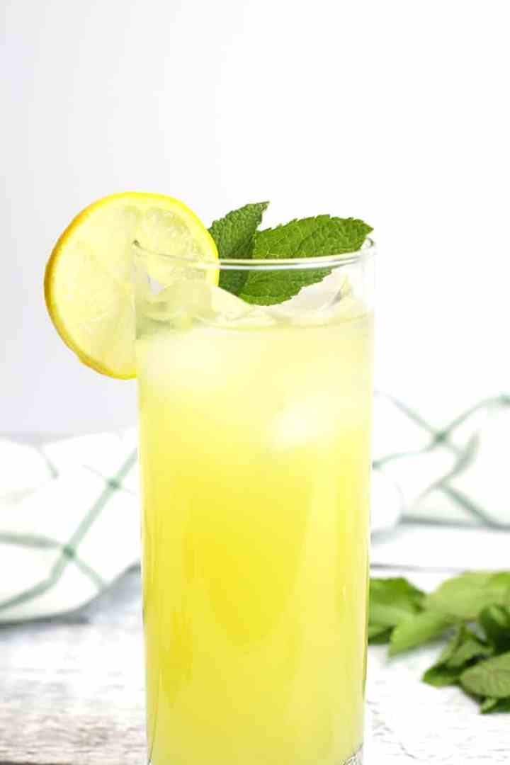 Pineapple Mint Lemonade by The Toasty Kitchen
