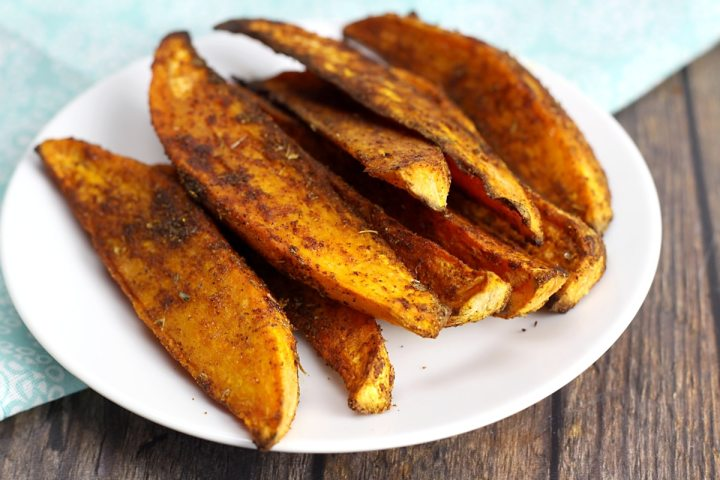Oven Roasted Cajun Sweet Potatoes by The Toasty Kitchen