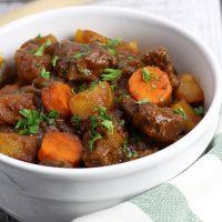 Easy Beef Stew from Scratch
