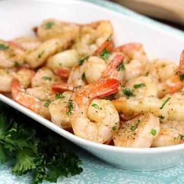 Sautéed Garlic Butter Shrimp by The Toasty Kitchen