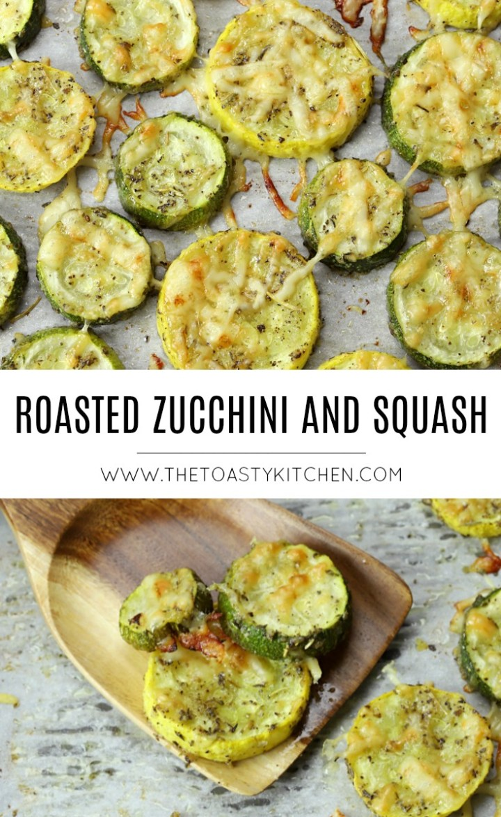 Roasted Zucchini and Squash by The Toasty Kitchen