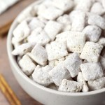 Snickerdoodle Puppy Chow Snack Mix The Toasty Kitchen