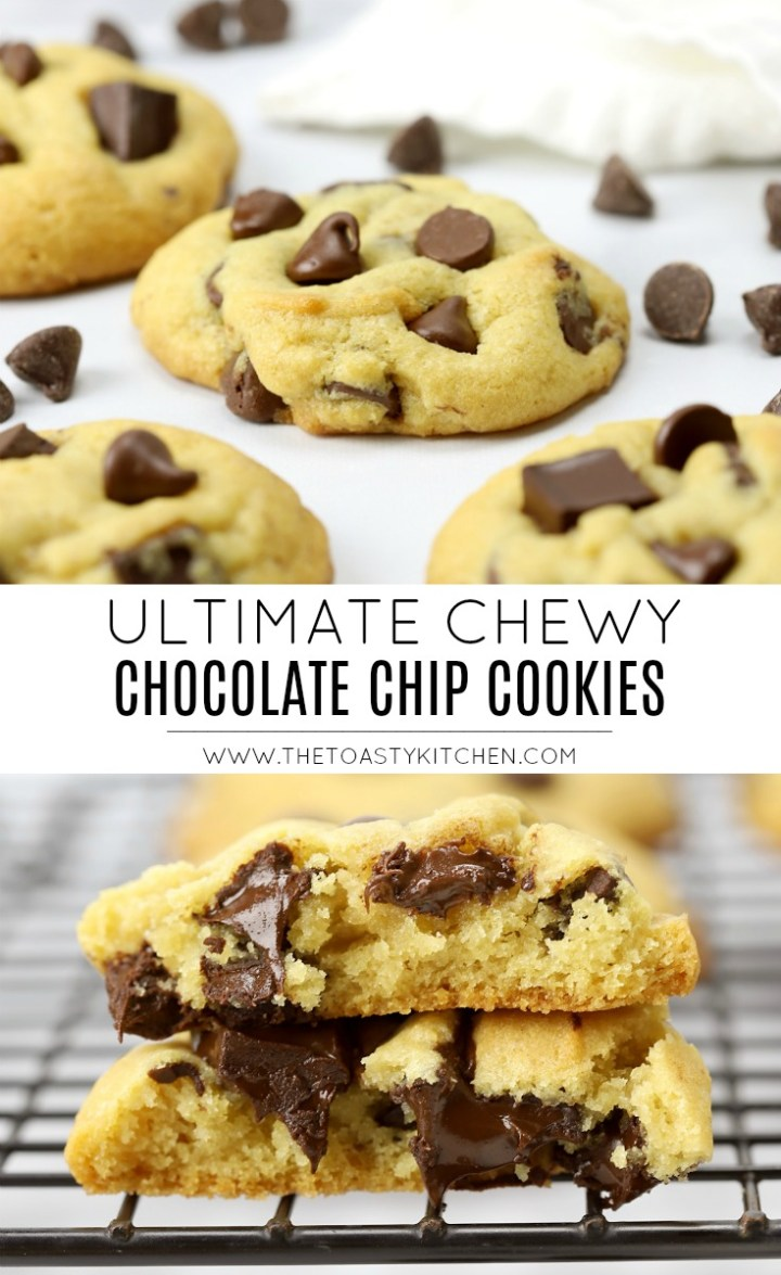 Ultimate Chewy Chocolate Chip Cookies by The Toasty Kitchen