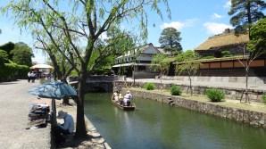 5. Kurashiki bikan district canal sunny